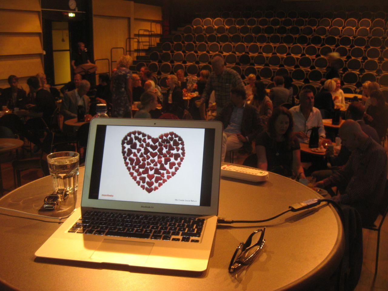 Wegoism fick premiär i Umeå