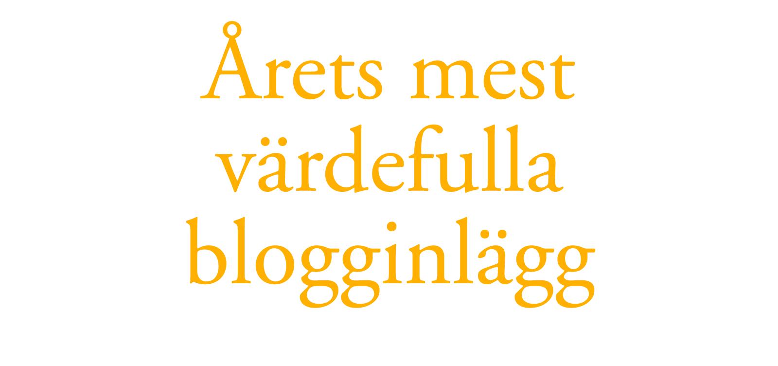 arets-blogginlagg