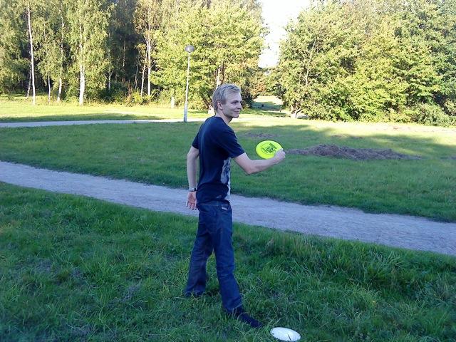 Manifesto testar: Frisbeegolf