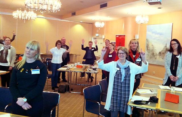 Föredrag om effektiv kommunikation för Svensk Energi i Hässleholm
