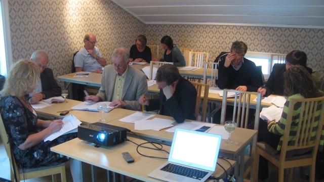 Planeringsdag med Söderhamns koncernledning i Växbo