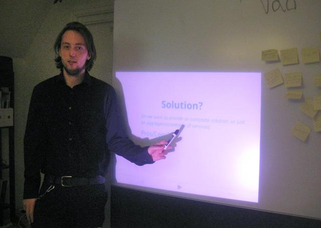 Kalles interna workshop för vårt egna superhemliga projekt