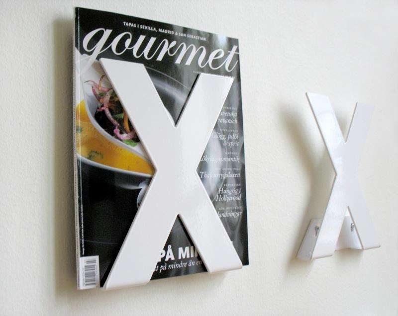Manifesto X tidskriftshållare