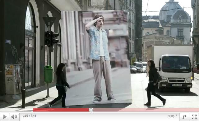 Sköna reklamfilmer för Olympus
