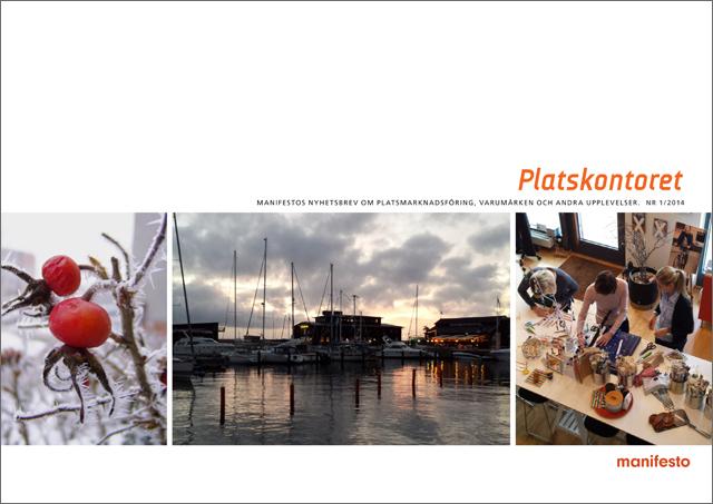 Nya numret av Platskontoret med Sveriges kommuners marknadsföring 2013
