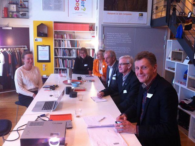 Politikerbesök och samtal om social design och Helsingborgs stadsutveckling
