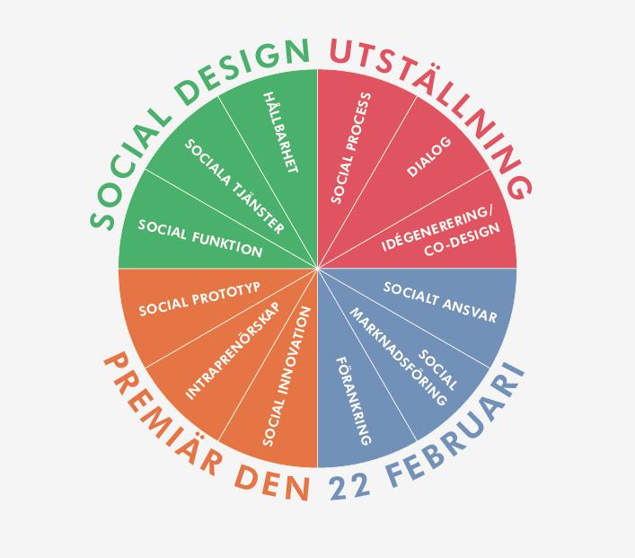 Social design affisch