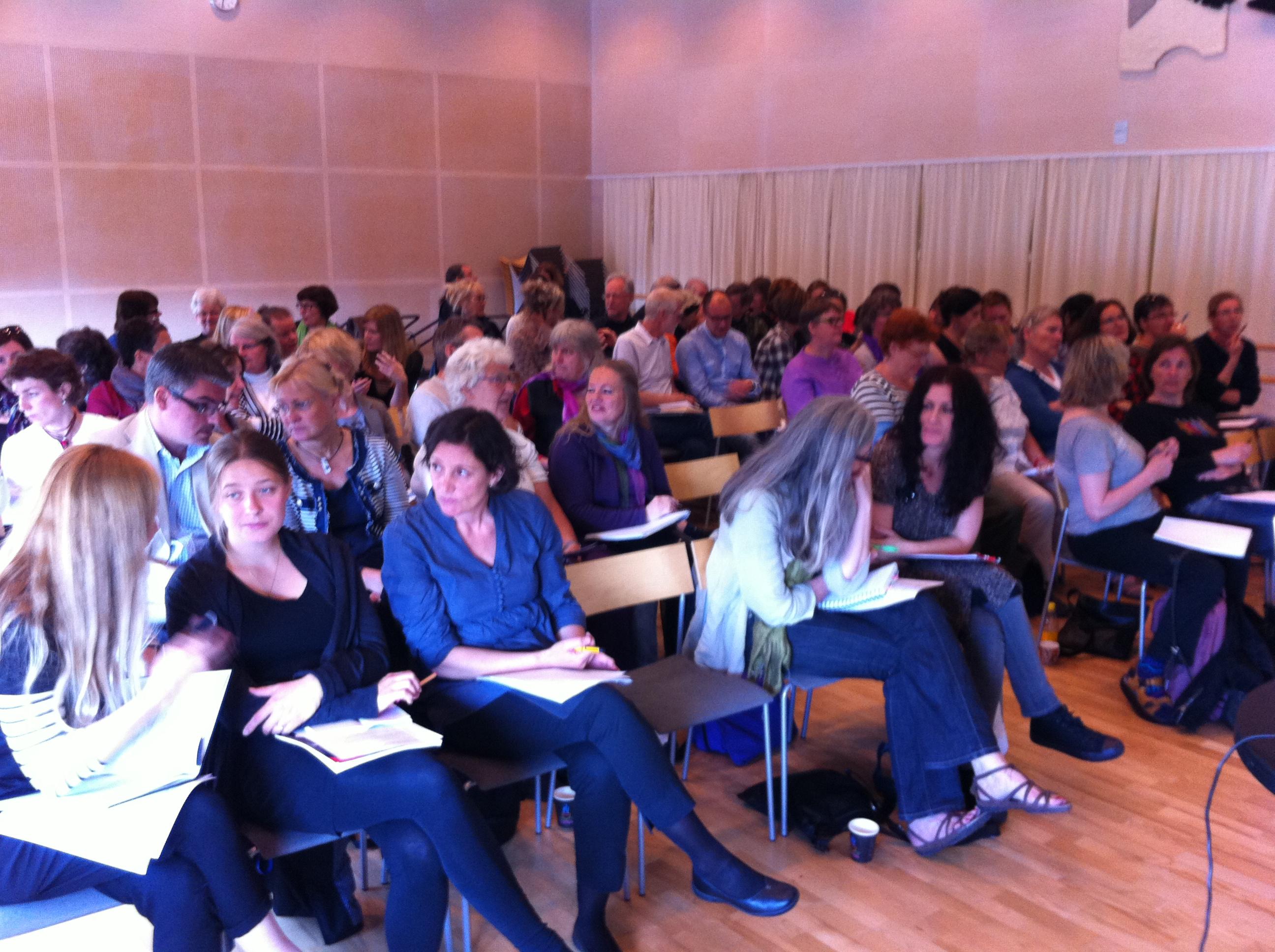 Sociala medier + 65 konsthantverkare = En förmiddag i Hässleholm