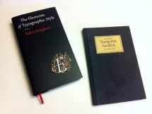 Boktips, två bra böcker om typografi