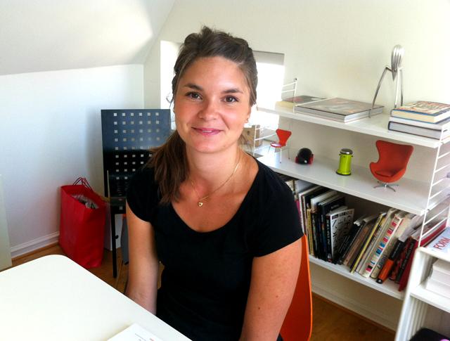Erica Lundström presenterar sig