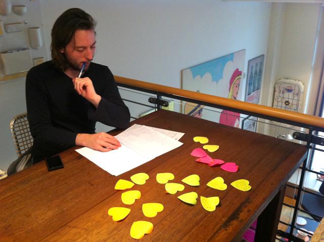 Kalle planerar workshop om den mobila webben