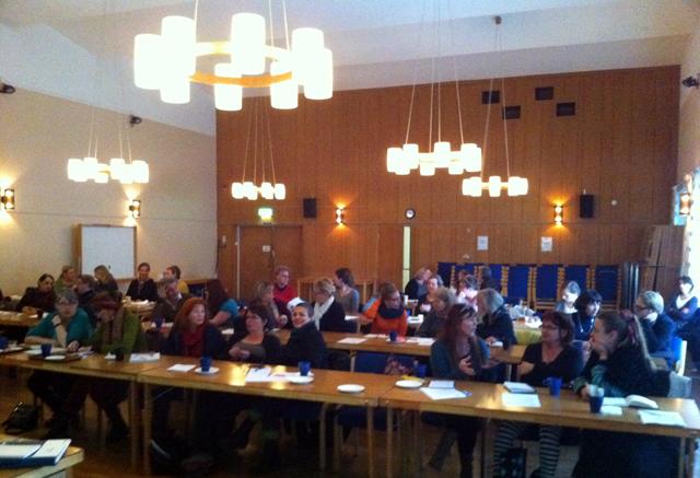 Föreläsning om sociala medier, för KHVC Stockholm