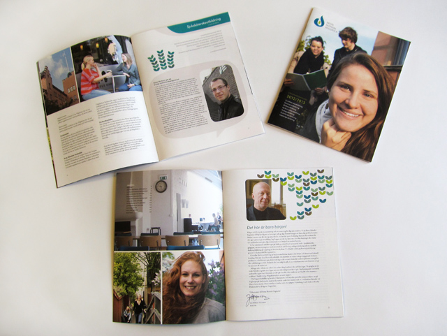 Grafisk design: Ersta Sköndal högskola, katalog 12/13