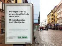 Heja Malmö, kampanj för Malmö stad och Polisen