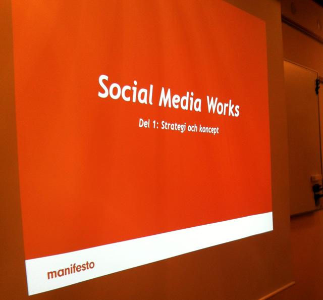 Social Media Works, del 1