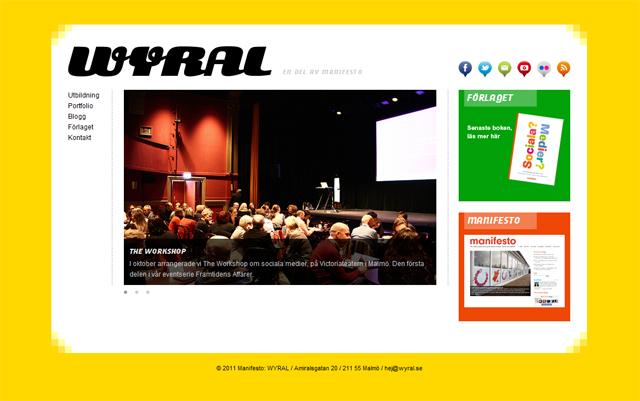 Wyral – utbildningar om sociala medier