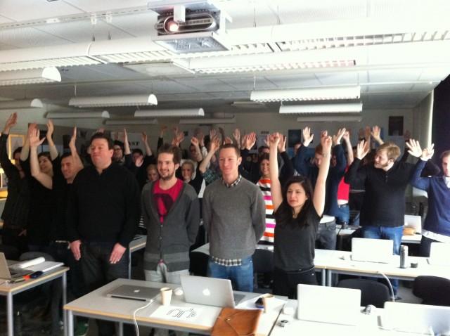 En hel hoper art directors och copywriters i Göteborg